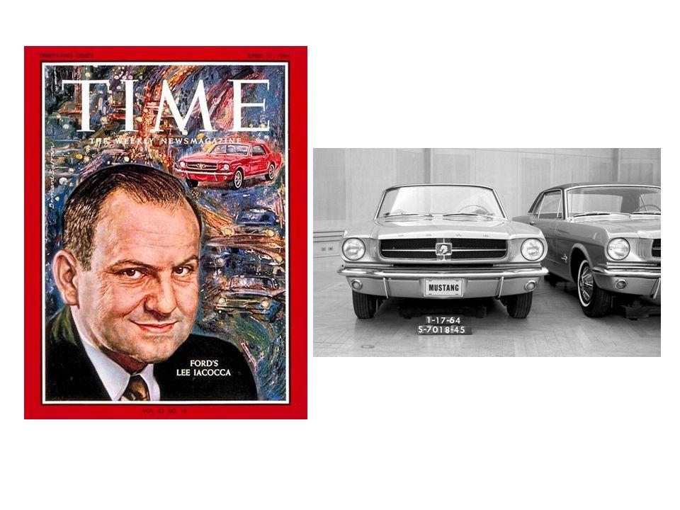 Úspěch a pád Na začátku roku 1965 byl povýšen na post viceprezidenta divize Fordu a dal si za úkol pozvednout ztrátovou divizi Lincoln-Mercury Osobně se podílel na vývoji vozu Lincoln Mark III a díky úspěchu tohoto automobilu se vrátila divize k zisku.