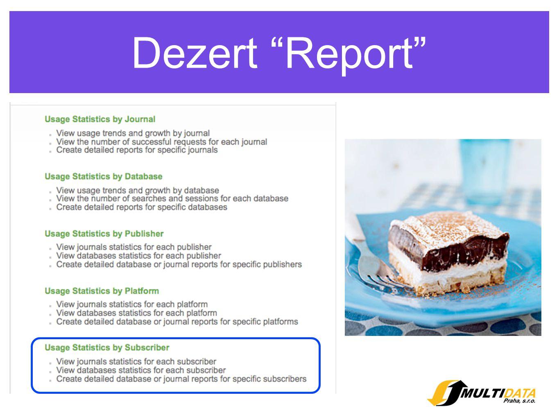 Dezert Report