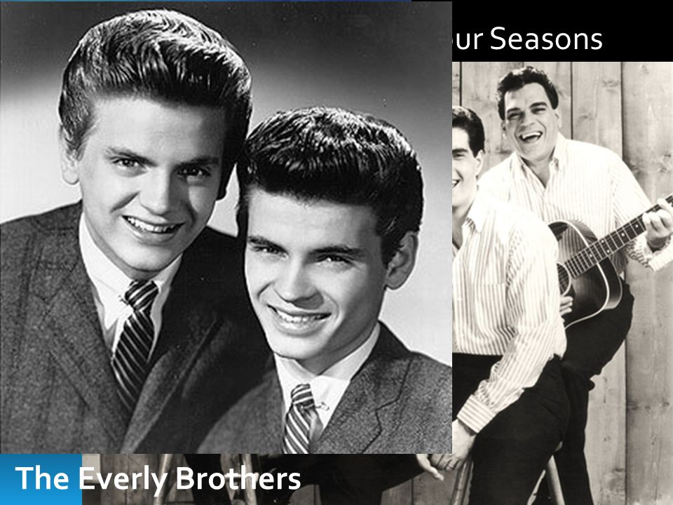 The Beach Boys The Four Seasons The Everly Brothers