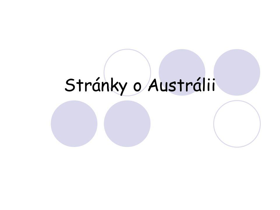 Stránky o Austrálii