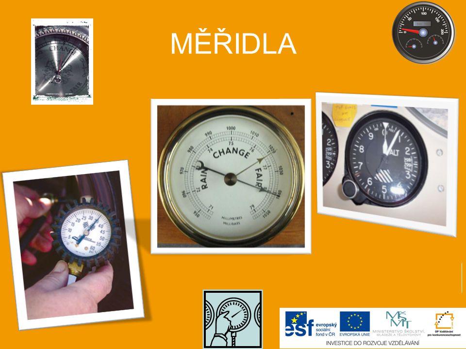 MĚŘIDLA manometr tlakový výškoměr barometr