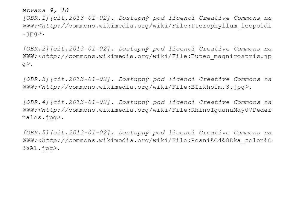 Strana 9, 10 [OBR.1][cit.2013-01-02]. Dostupný pod licencí Creative Commons na WWW:.