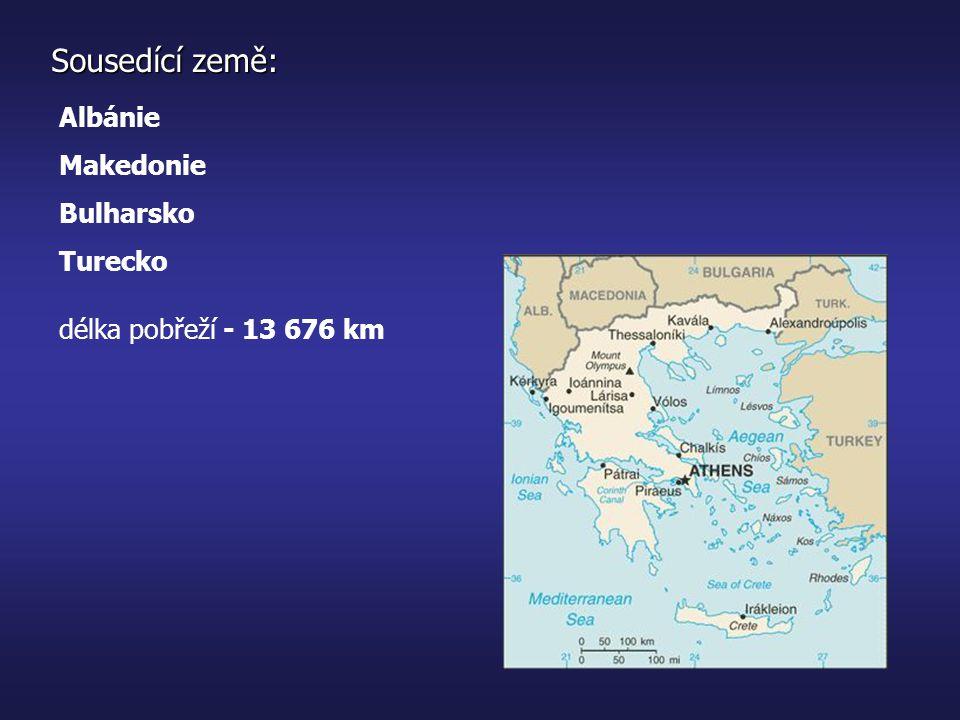 1.kultury Kykladská, Mínojská, Mykénská doba Temna vznik prvních městských států éra Alexandra Velikého Byzantská říšeOsmanská říše - 776 př.