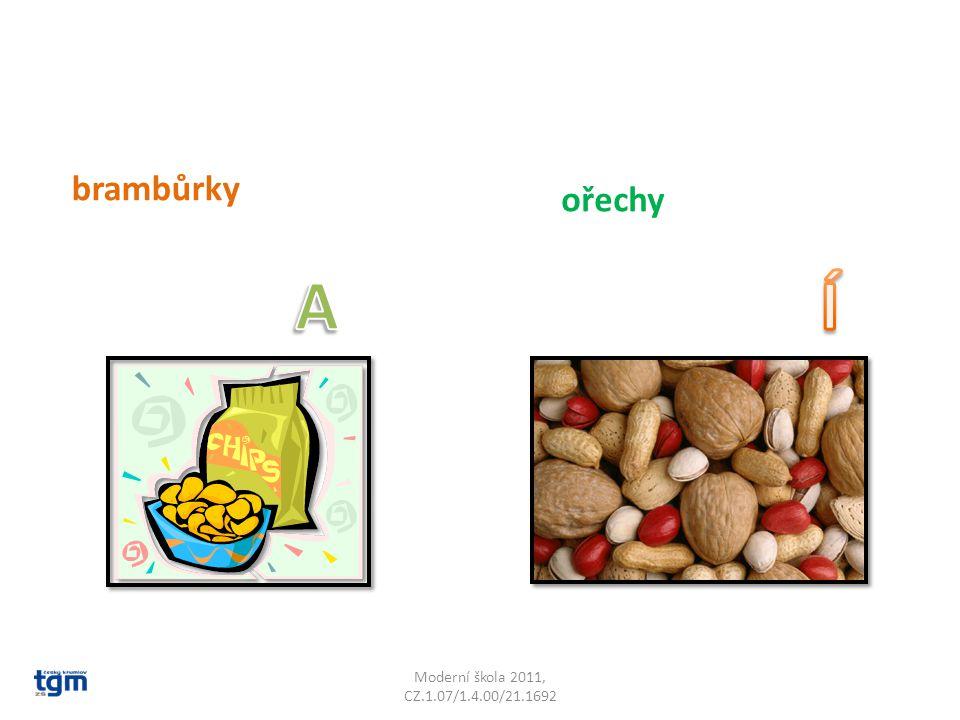 Moderní škola 2011, CZ.1.07/1.4.00/21.1692 brambůrky ořechy