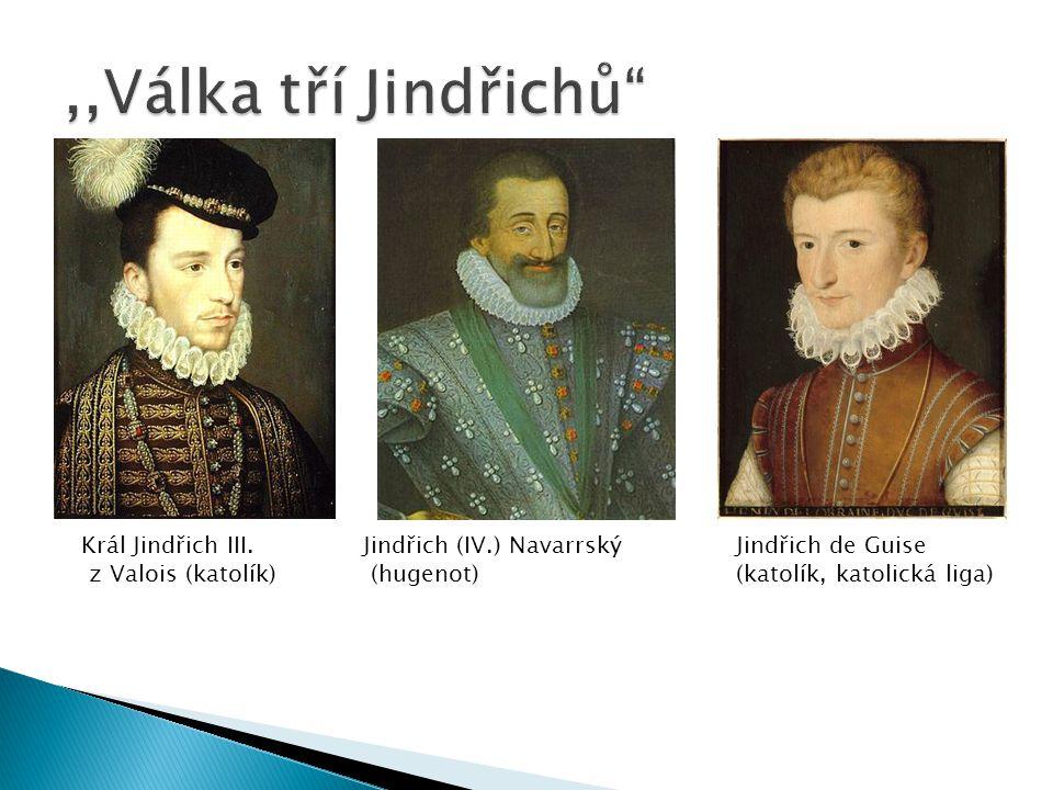  Řešení: sňatek bourbona Jindřicha Navarrského s Markétou Medičejskou (Valois)  23.-24.8.