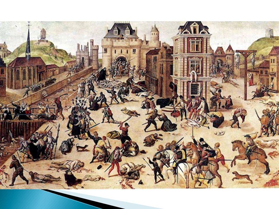  Další 4 války - jednání, míry  Zvýšení napětí mezi Guisy a král.
