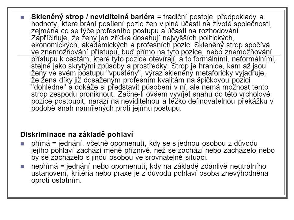 Chtějí české ženy rodit, nebo pracovat.