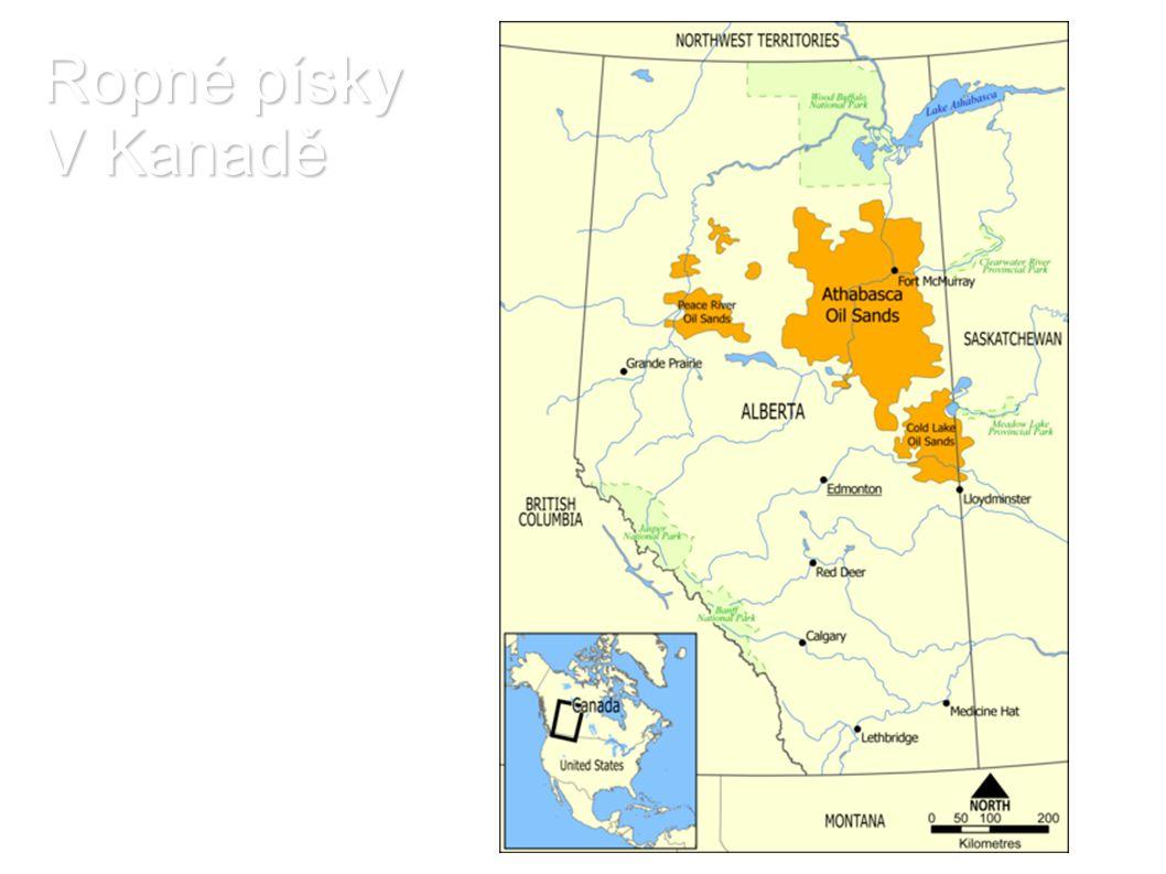 Ropné písky V Kanadě
