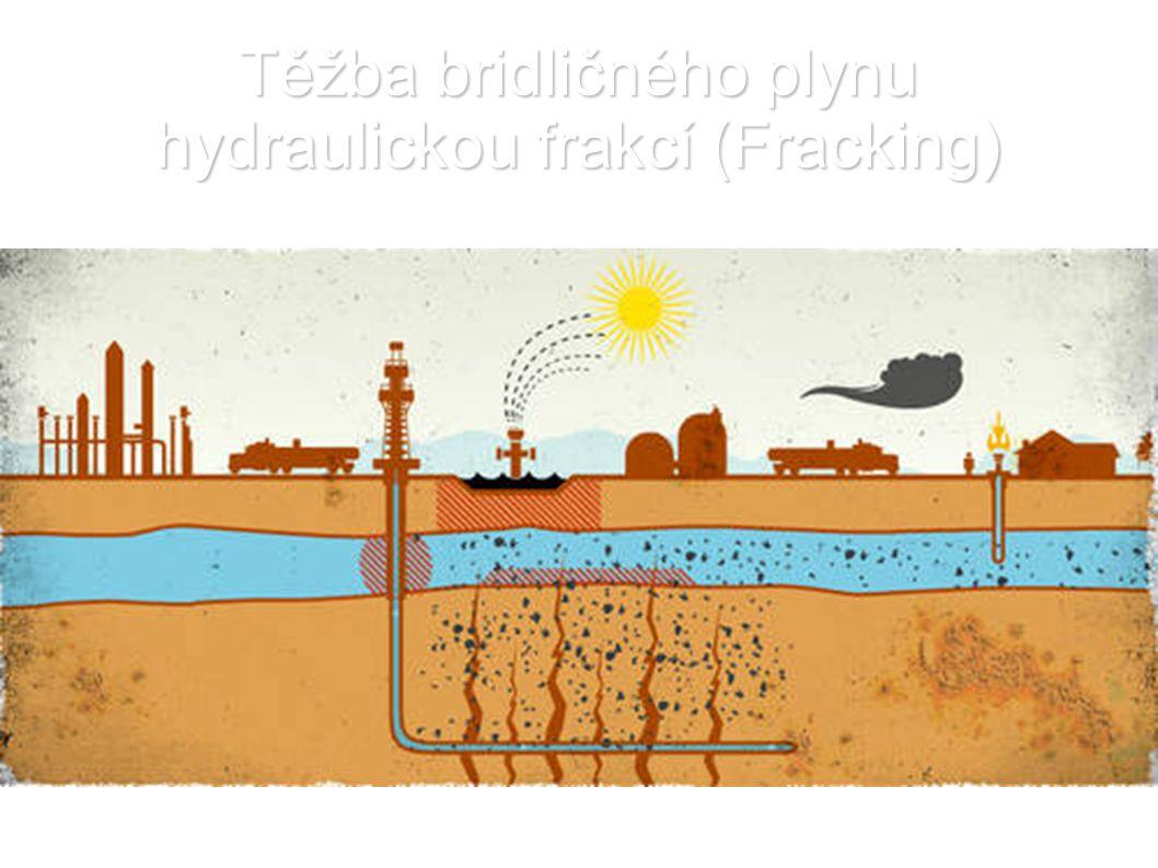 Těžba bridličného plynu hydraulickou frakcí (Fracking)