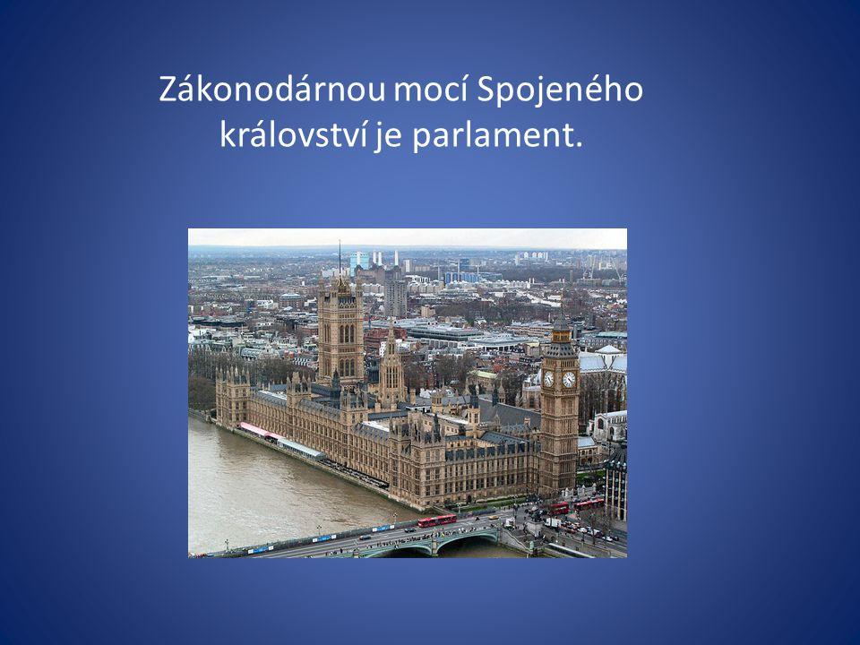 Zákonodárnou mocí Spojeného království je parlament.