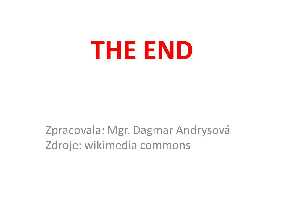 THE END Zpracovala: Mgr. Dagmar Andrysová Zdroje: wikimedia commons