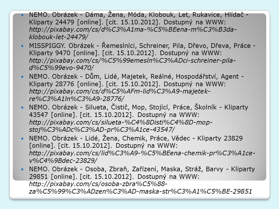 NEMO. Obrázek - Dáma, Žena, Móda, Klobouk, Let, Rukavice, Hlídač - Kliparty 24479 [online].