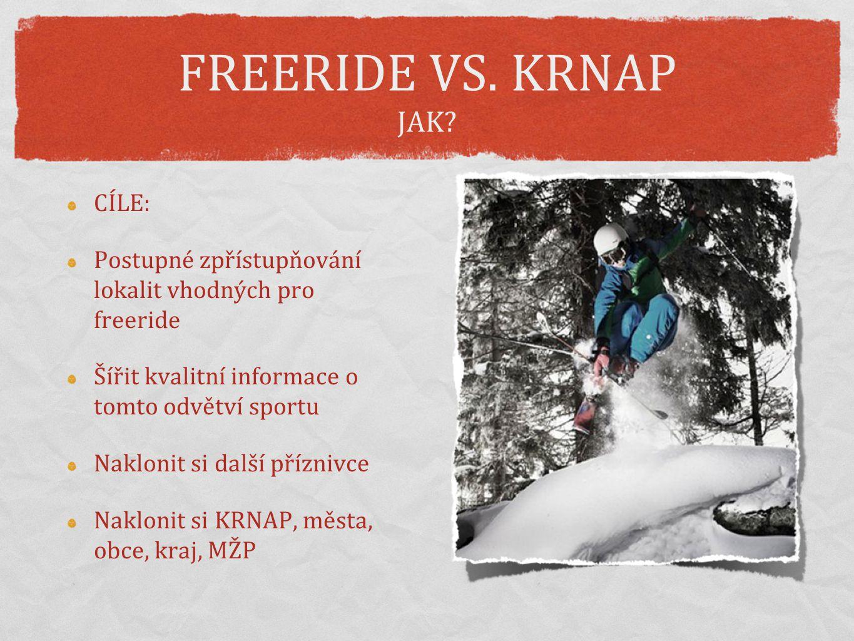 FREERIDE VS.KRNAP JAK.