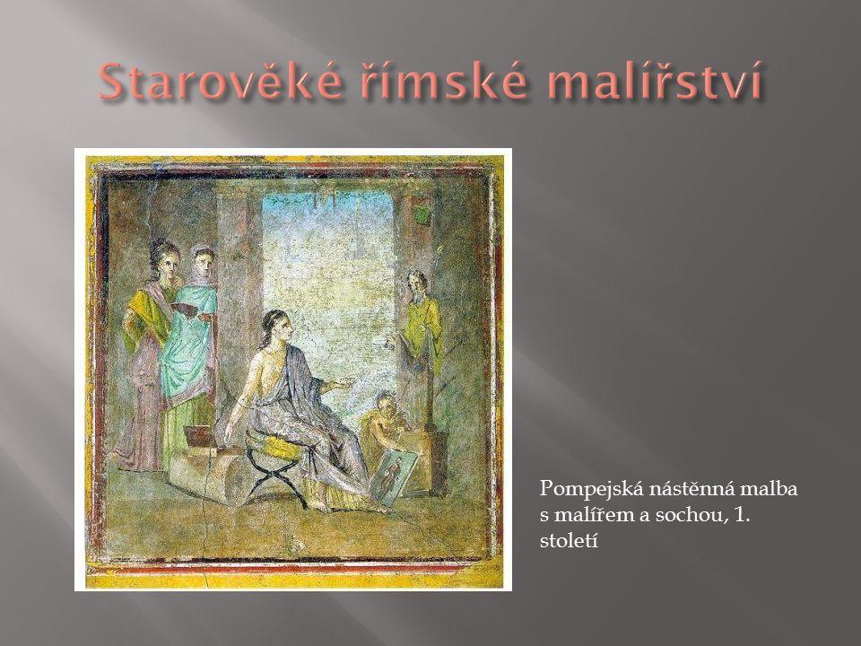 Pompejská freska z Villy mystérií, kolem roku 80 př. n. l.