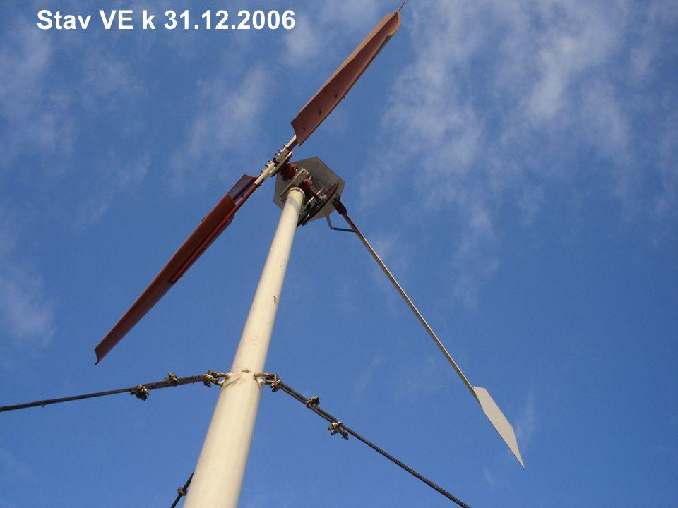 Stav VE k 31.12.2006