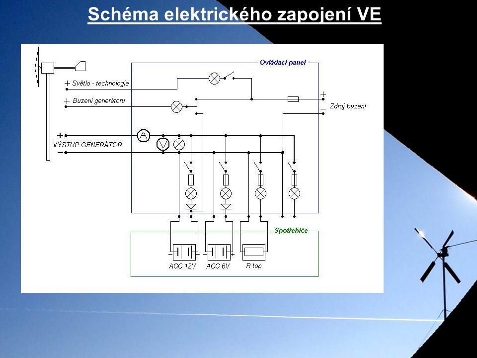 Schéma elektrického zapojení VE