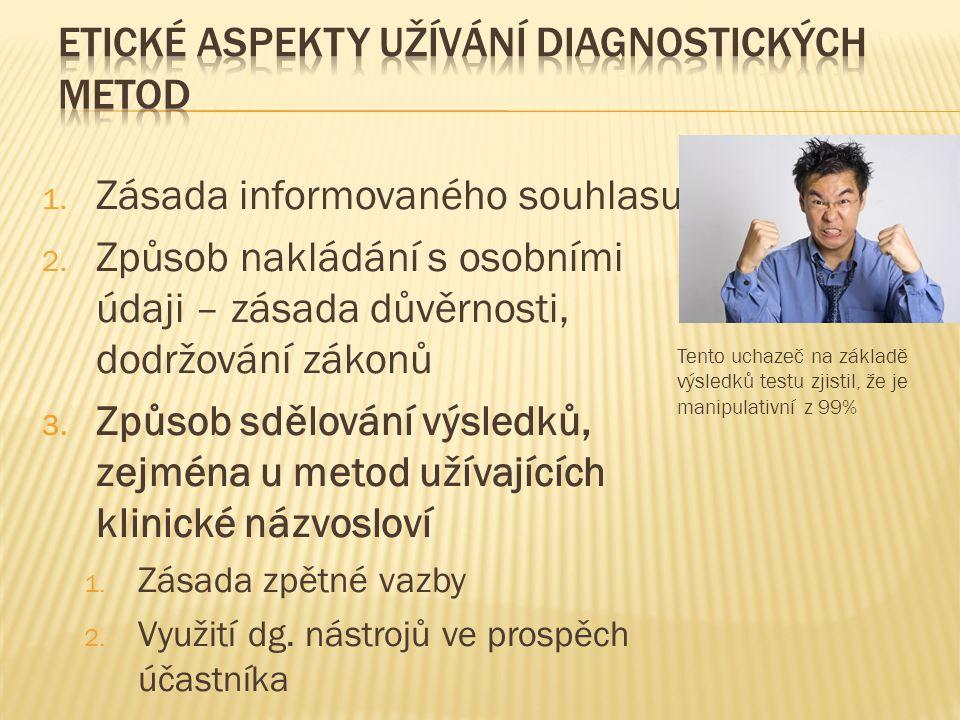 1.Zásada informovaného souhlasu 2.