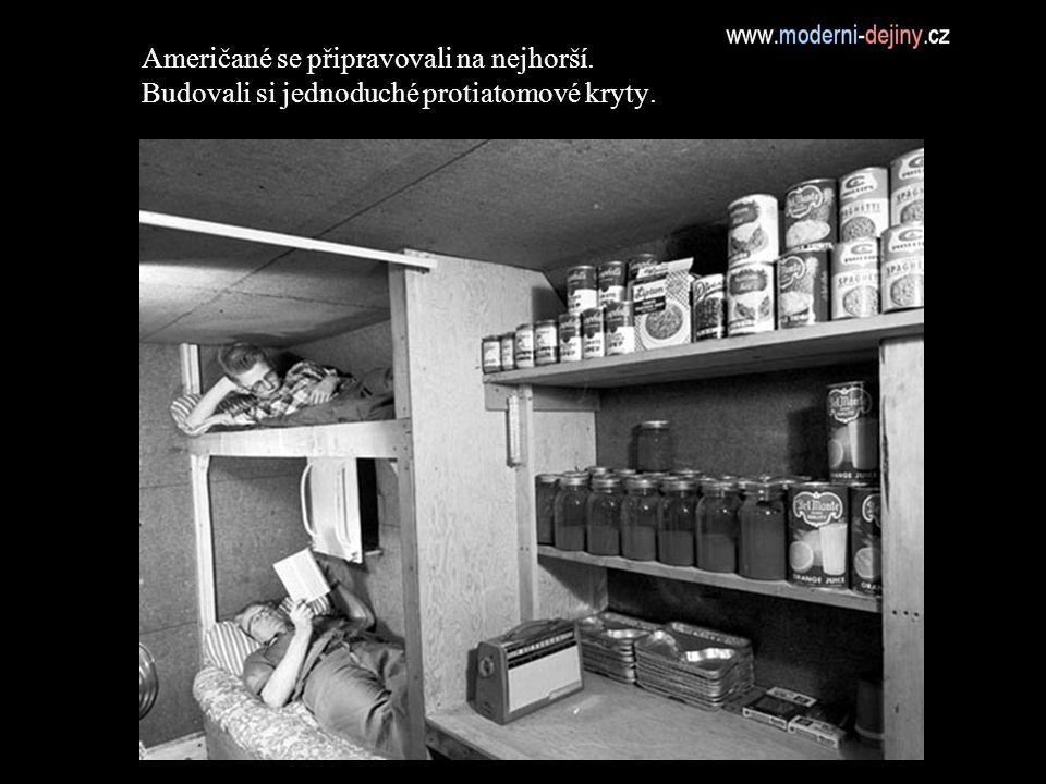 Američané se připravovali na nejhorší. Budovali si jednoduché protiatomové kryty.
