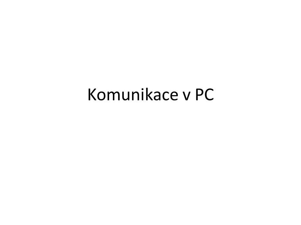  Sběrnice  IRQ a DMA  Sériové a paralelní porty