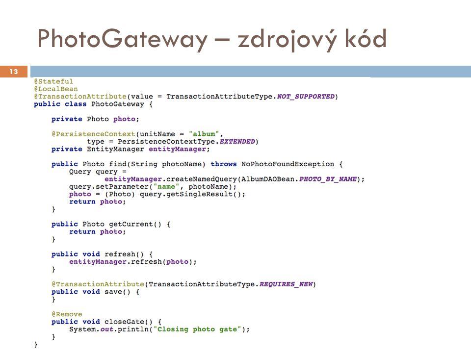 PhotoGateway – zdrojový kód 13
