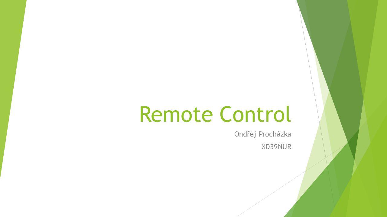 Remote Control Ondřej Procházka XD39NUR