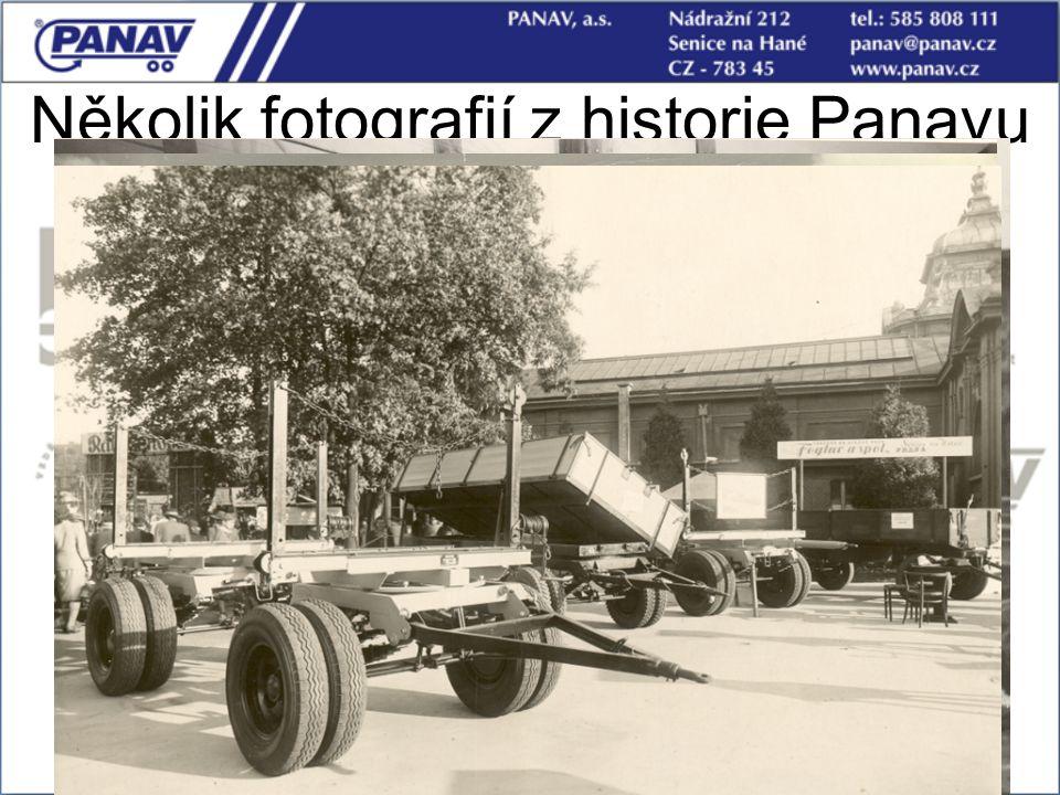 10 Několik fotografií z historie Panavu