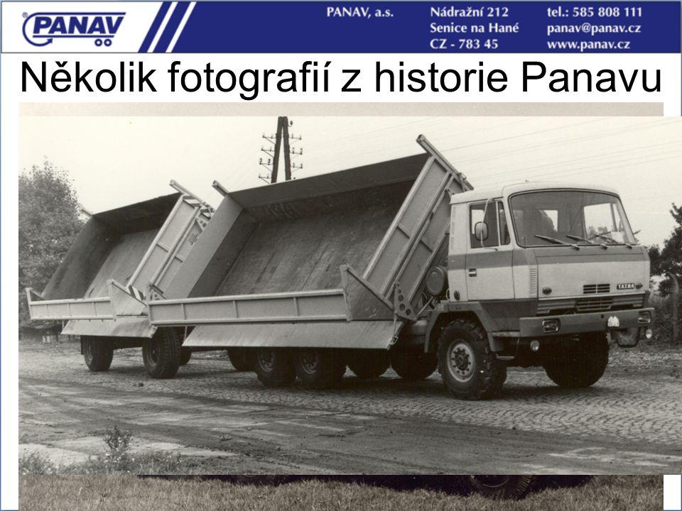 11 Několik fotografií z historie Panavu