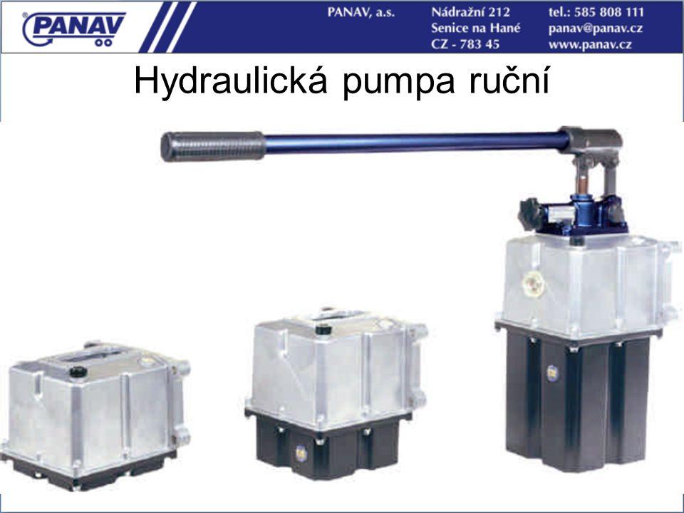 45 Hydraulická pumpa ruční Text