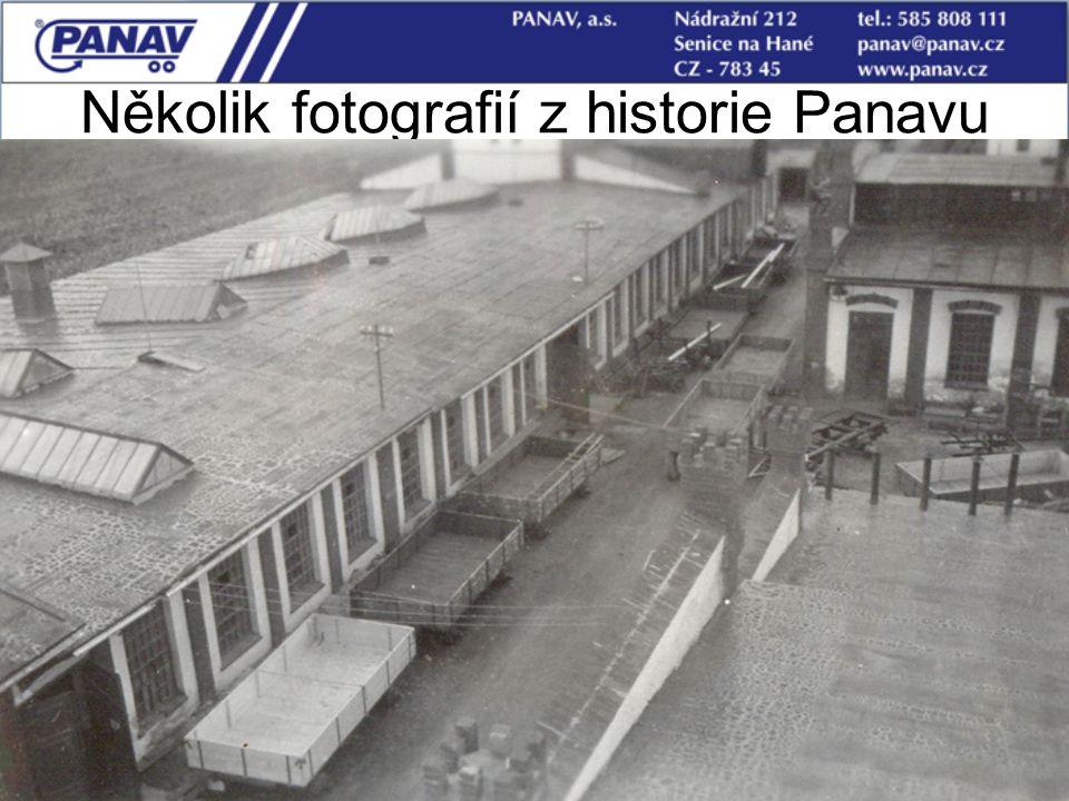 7 Několik fotografií z historie Panavu