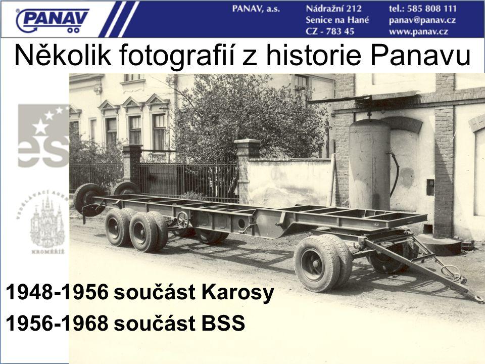 9 1948-1956 součást Karosy 1956-1968 součást BSS