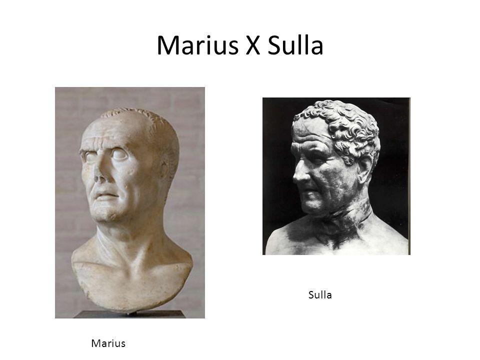Marius X Sulla Marius Sulla