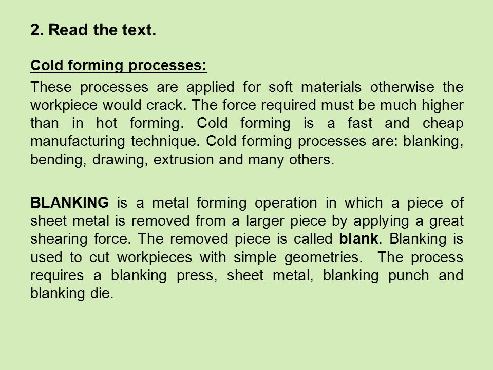 BENDING is a process during which material is plastically deformed into various angles.