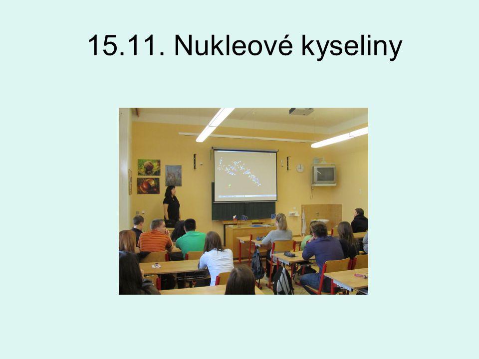 15.11. Nukleové kyseliny
