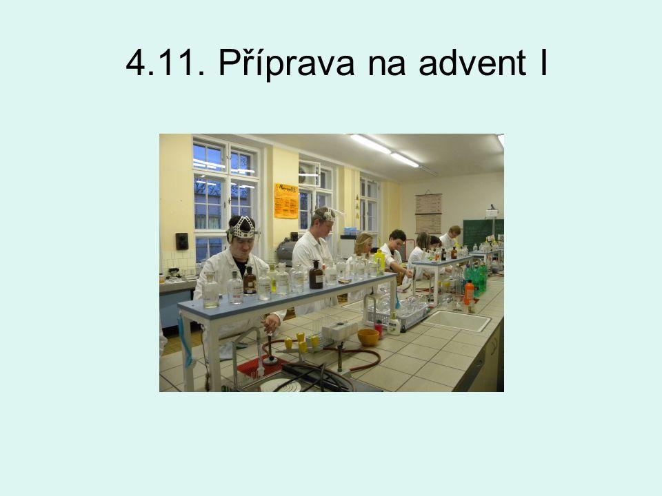4.11. Příprava na advent I