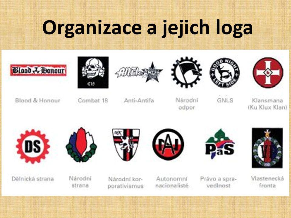 Organizace a jejich loga