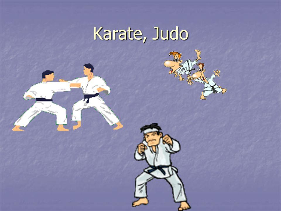 Karate, Judo