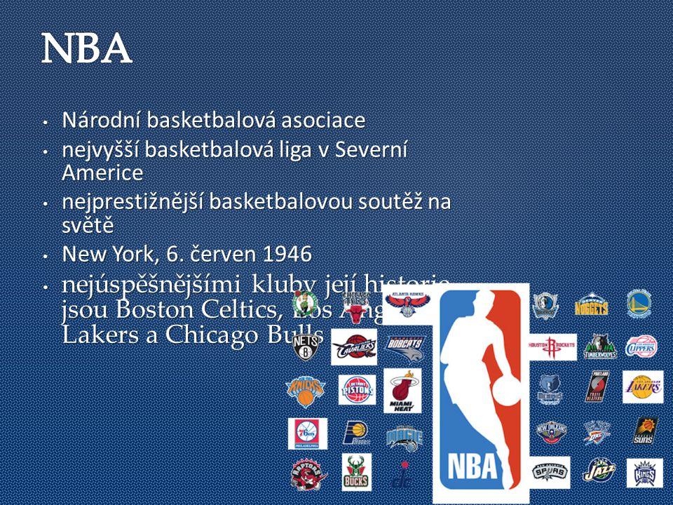 Národní basketbalová asociace Národní basketbalová asociace nejvyšší basketbalová liga v Severní Americe nejvyšší basketbalová liga v Severní Americe nejprestižnější basketbalovou soutěž na světě nejprestižnější basketbalovou soutěž na světě New York, 6.