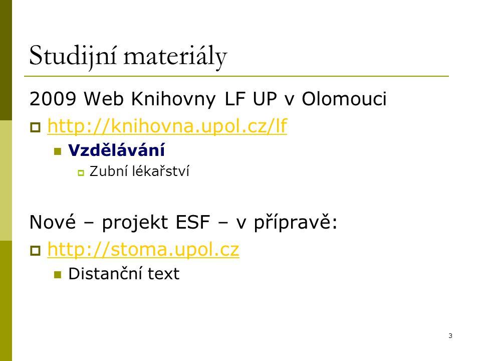"""24 MEDLINE/PubMed (5) Pokročilé vyhledávání – """"Advanced Search"""
