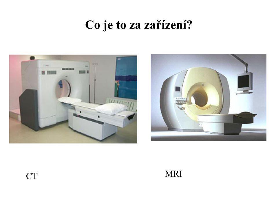 CT MRI Co je to za zařízení?