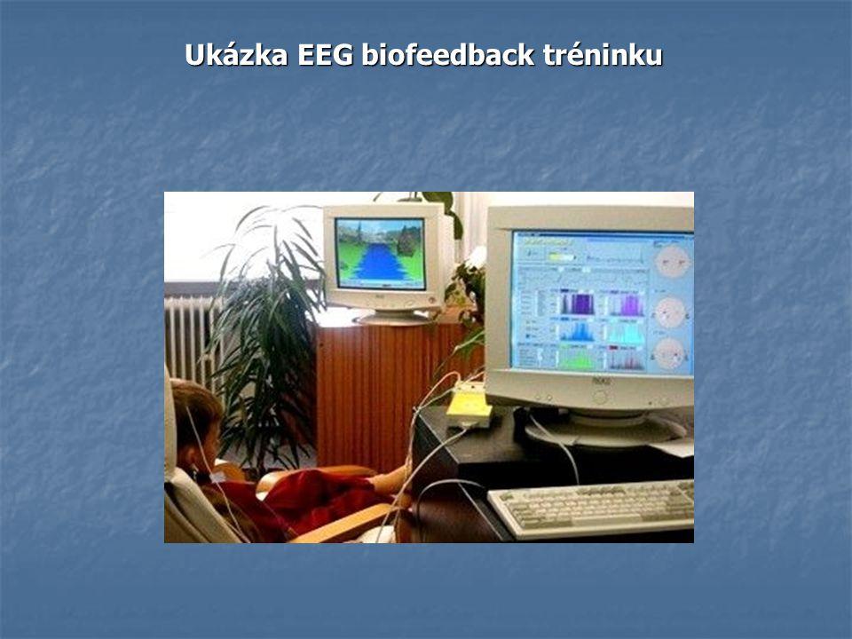 Ukázka EEG biofeedback tréninku Ukázka EEG biofeedback tréninku