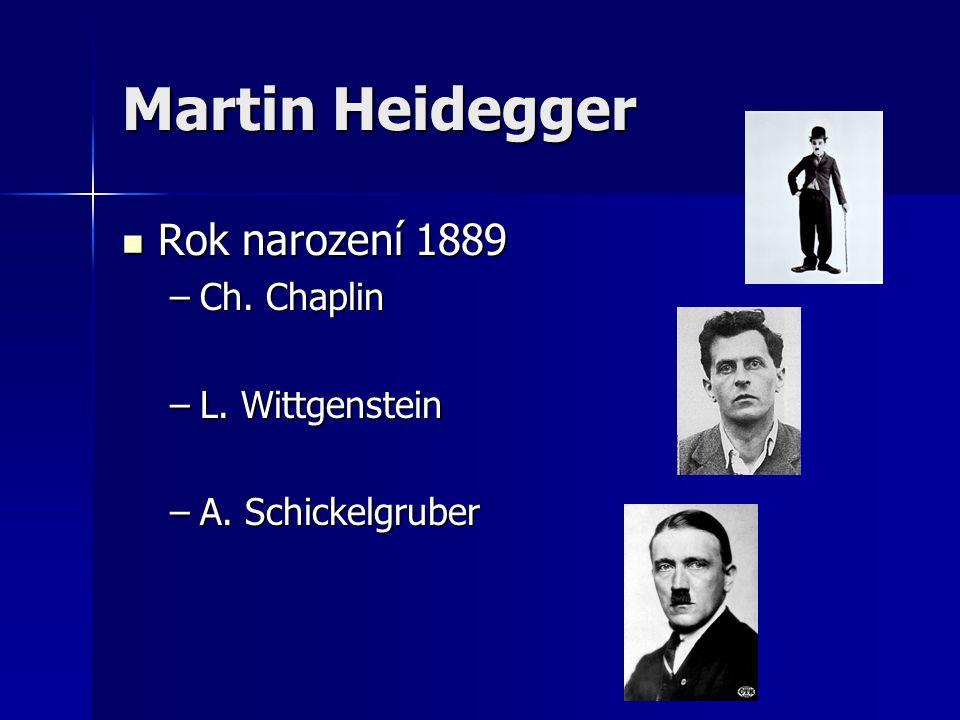 Rok narození 1889 –C–C–C–Ch. Chaplin –L–L–L–L. Wittgenstein –A–A–A–A. Schickelgruber