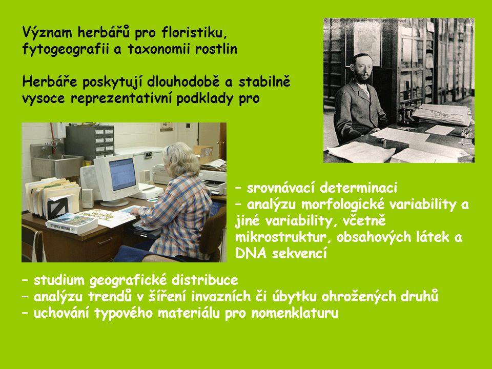 Karlova univerzitaPRC2200000 Národní muzeumPR2000000 Moravské muzeumBRNM859500 Masarykova univerzitaBRNU550000 Muz.