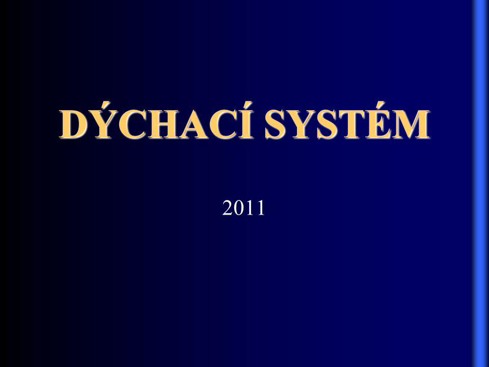 DÝCHACÍ SYSTÉM 2011