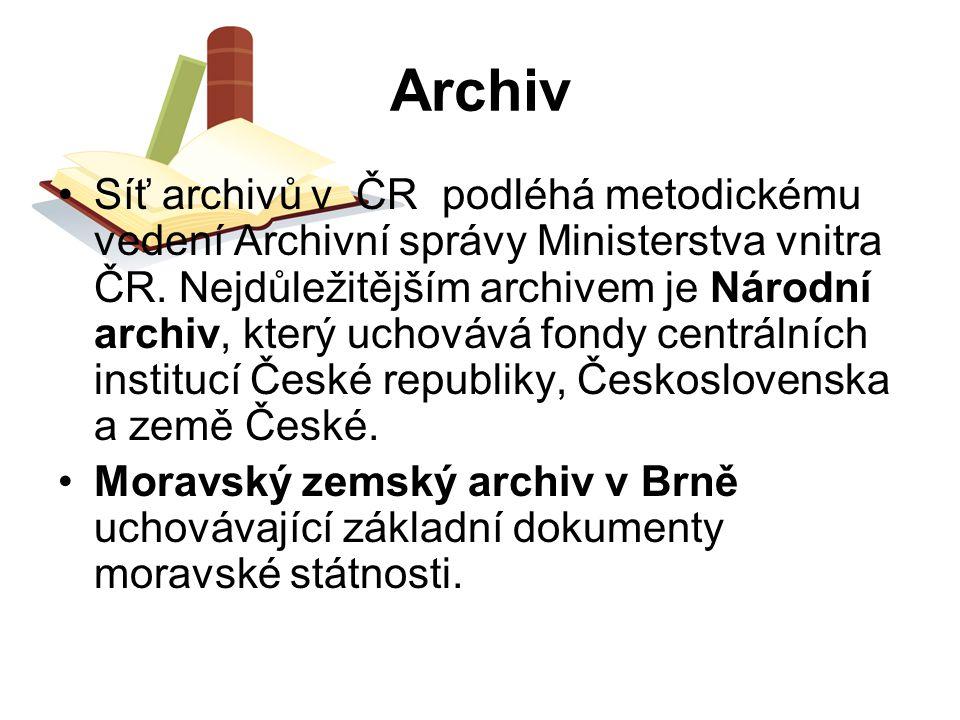 Knihovní zákon č.257/2001 Sb., ze dne 29.