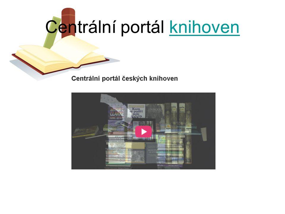 Centrální portál knihovenknihoven