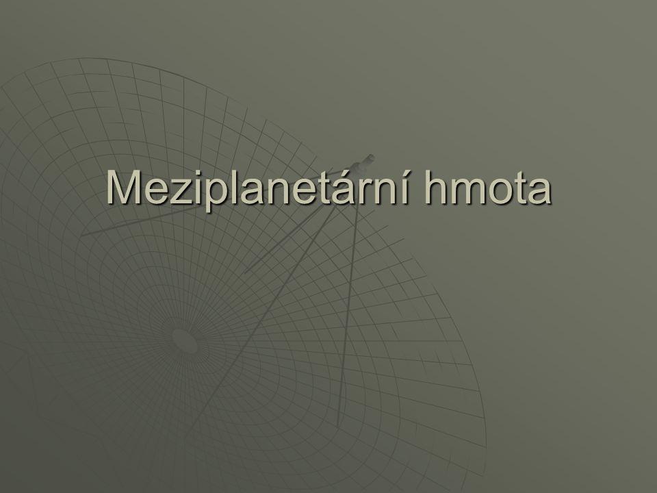 Meziplanetární hmota
