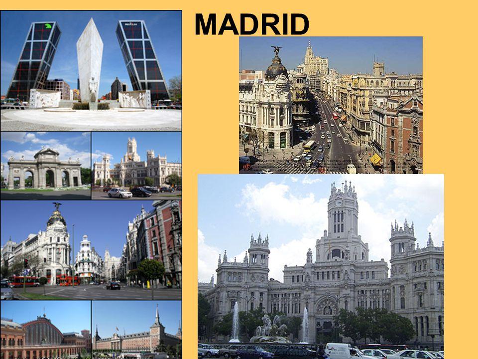MADRID http://cs.wikipedia.org/wiki/Soubor:MontajeMadrid.png http://cs.wikipedia.org/wiki/Soubor:Plaza_de_Cibeles_- _Palacio_de_Communicaciones_Madrid