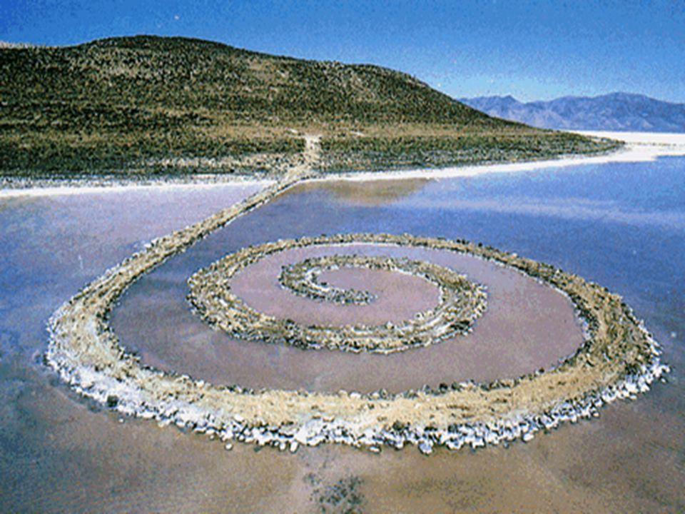 Land Art (Earthworks, Earth art, zemní umění) Vznik v 60.