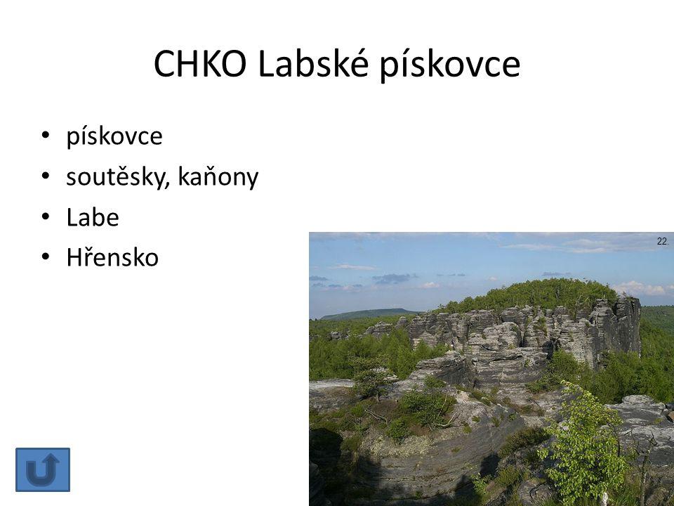 CHKO Labské pískovce pískovce soutěsky, kaňony Labe Hřensko 22.