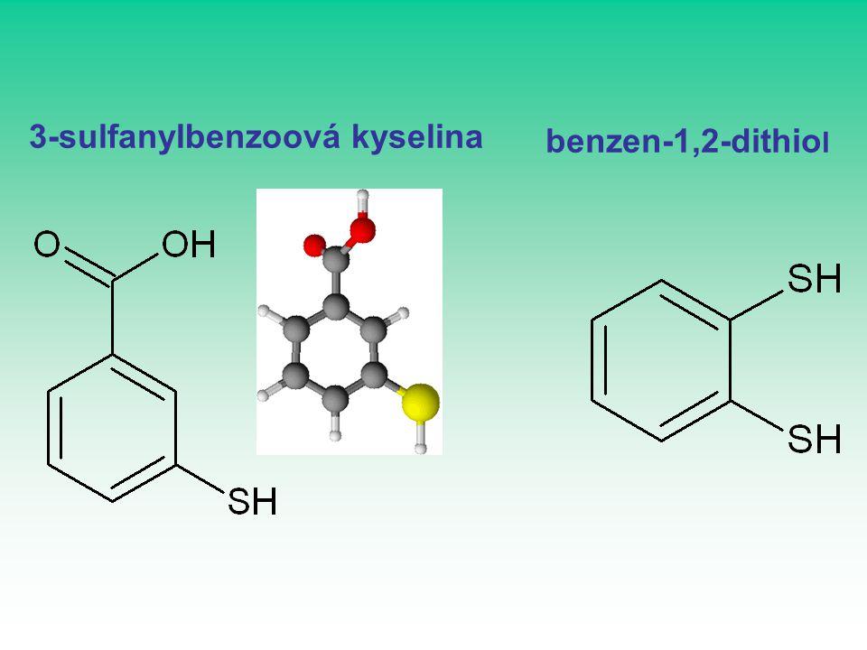3-sulfanylbenzoová kyselina benzen-1,2-dithio l